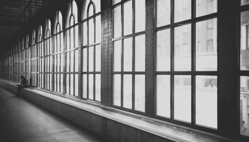 hallway-windows-industial-metal-glass-riveted